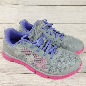 Under Armour Girls Youth shoes runner sneakers 5
